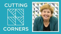 Make a Cutting Corners Quilt with Jenny Doan of Missouri Star! (Video Tutorial) by Missouri Star Quilt Company Jenny Doan Tutorials, Msqc Tutorials, Quilting Tutorials, Jellyroll Quilts, Easy Quilts, Star Quilts, Quilt Blocks, Scrappy Quilts, Sampler Quilts