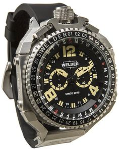 Visconti Watch Full Dive FD 500 Chrono Steel Watch available to buy online from with free UK delivery. Amazing Watches, Cool Watches, Watches For Men, Relogio Citizen Aqualand, G Shock, Sport Watches, Luxury Watches, Fashion Watches, Chronograph