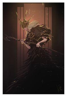 Art of Dark Souls Fantasy Art Men, Dark Fantasy, Saga Art, Soul Saga, Dark Souls Art, Dark Blood, Bloodborne, Fantasy Characters, Monsters
