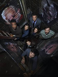 Grimm-this show is SO awesome if you like sci-fi, action, mystery and a little comedy.  LOVE it!