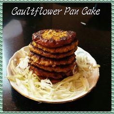 Chinu's Kitchen Corner: Cauliflower Pan Cake