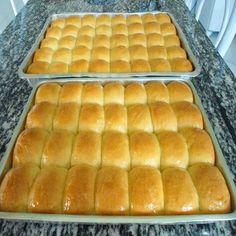 Pão de leite condensado fácil, para você fazer e ganhar dinheiro, vendendo empacotadinhos nos saquinhos, pode vender por kilo ou bandeja, faça e venda.