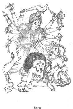 Jaya Jaya Durga!Jaya Mahishasuramardhini Maa!!