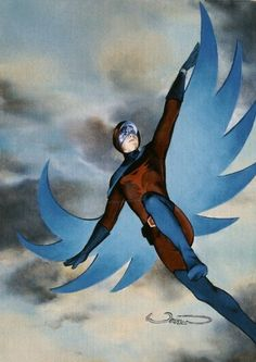 Science Ninja Team Gatchaman-Joe the Condor by Alex Ross ...