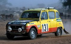Renault 4 did surprisingly well at Paris – Dakar Rally Sport Cars, Race Cars, Rallye Paris Dakar, Rallye Raid, Range Rover Classic, Karting, Rally Car, Cars And Motorcycles, Classic Cars