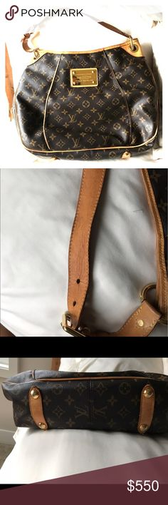 Louis vuitton handbag Slightly used louis vuitton handbag. Minor stains on inside outside in great shape. Bags Shoulder Bags