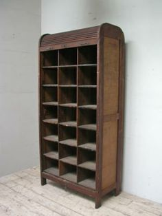 antique butterick sewing pattern cabinet - i desperately want one