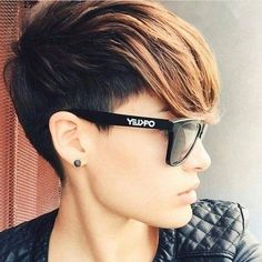 Everyday Hairstyles, Pixie Hairstyles, Pixie Haircut, Short Hairstyles For Women, Easy Hairstyles, Straight Hairstyles, Hairstyles Videos, Wedding Hairstyles, Short Hair Cuts