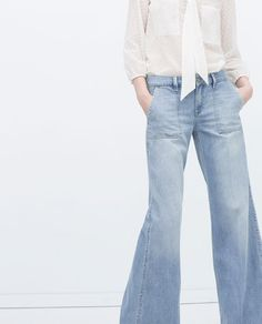 ZARA - WOMAN - SQUARE POCKET JEANS
