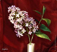 Produse de artizanat veterinar Bumagoplastika Quilling Hîrtie Lilac Banda ramură foto 1