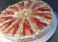 Epres paleo torta Diabetic Recipes, Healthy Recipes, Cukor, Healthy Sweets, Healthy Food, Paleo Diet, Paleo Food, Keto, Food To Make
