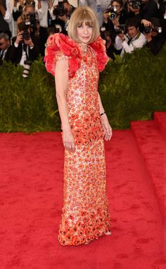 Anna Wintour from 2015 Met Gala Arrivals | E! Online