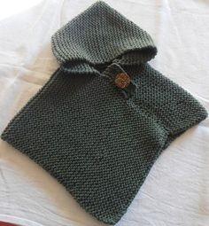 cape tricot bebe