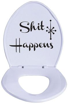 lets class up this joint! $14.99 lol I'd put it in the guest bath so they'd feel less awkward if they had to go, haha!