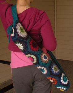 Hexy Yoga Mat Bag....like the hexagon grannies