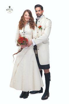 Hochzeitsoutfit für Sie & Ihn #rettl1868 #highfashion #wedding #weddingdress #weddingday #weddingphotography #weddings #weddinginspiration #weddingideas #weddingphoto Wedding Dress, Outfit, Wedding Styles, High Fashion, Kleding, Bride Groom Dress, Outfits, Bridal Gown, Couture