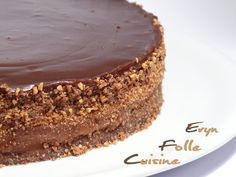 "Le ""Dynamite"" Gâteau Caramel & Chocolat (base fondant ricotta caramel, mousse chocolat et fondant chocolat caramel )"