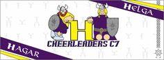 Helgas e Hagares - Cheerleaders C7