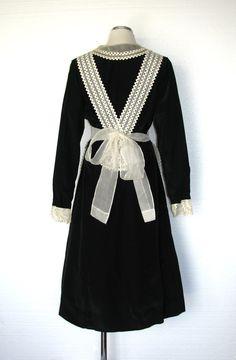 Vintage 30s Maid Costume / 30s Servant Dress / by DeannesVintage