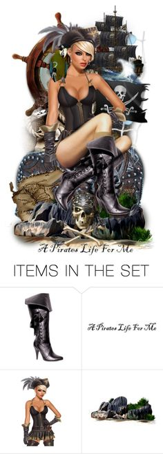 """""""A Pirate's Life For Me☠"""" by cindu12 ❤ liked on Polyvore featuring art"""