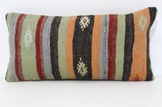 12x24 Turkish Kilim Pillow Throw Pillow Decorative Kilim Pillow 12x24 Handwoven Kilim Pillow Boho Pillow Cushion Cover SP3060-981 by SebilPillows on Etsy https://www.etsy.com/listing/546909223/12x24-turkish-kilim-pillow-throw-pillow
