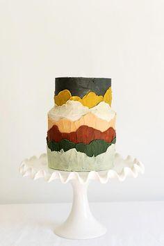 Black Wedding Cakes, Beautiful Wedding Cakes, Beautiful Cakes, Bolo Cake, Fresh Flower Cake, Traditional Cakes, Cake Trends, Painted Cakes, Cake Tasting