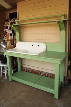 outdoor sink idea