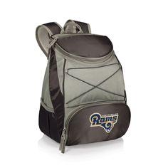 Los Angeles Rams PTX Backpack Cooler - Black