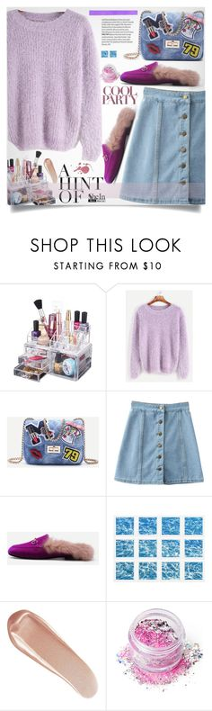 """""""SheIn Style"""" by lillili25 ❤ liked on Polyvore featuring WithChic, William Stafford, NARS Cosmetics, In Your Dreams, Sheinside, polyvoreeditorial and shein"""