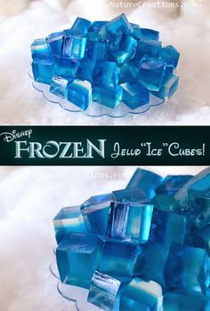 Frozen Jello Ice Cubes! Party Fun for Little Ones: Frozen Party Ideas