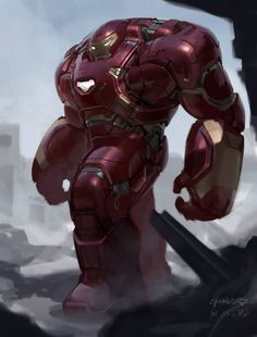Unused Designs for Hulkbuster, Vision, and Ultron in AVENGERS: AGE OF ULTRON