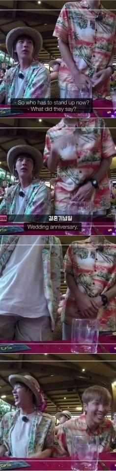 Namjin married couple Bon Voyage 2