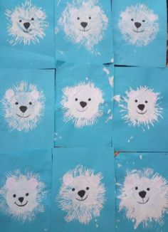 Winter crafts for kids, pre k activities, winter fun, winter theme, win Animal Art Projects, Winter Art Projects, Toddler Art Projects, Animal Crafts, Toddler Crafts, Winter Crafts For Toddlers, Arts And Crafts For Teens, Art And Craft Videos, Preschool Winter