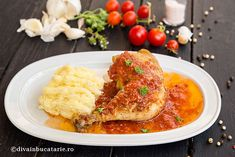Romanian Food, Risotto, Favorite Recipes, Lunch, Meat, Chicken, Dinner, Breakfast, Ethnic Recipes