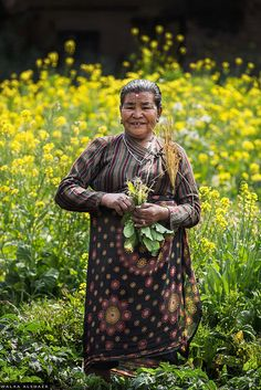 Woman Farmer, Nepal
