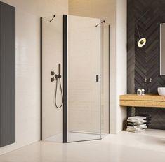 Pięciokątna kabina prysznicowa Radaway Nes Black PTJ z drzwiami wahadłowymi. #radaway #projektantwnetrz #BathroomShower #ShowerSystems #kabinyprysznicowe #kabina #kabinaprysznicowa #kabina #architekturawnętrz #mojemieszkanie #modnemieszkanie #bohointerior #inspiracjelazienkowe #modernbathroom #showerdesign #bathroomideas Shower Cabin, Cabins, Bathtub, Bathroom, Standing Bath, Washroom, Bathtubs, Shower Enclosure, Bath Tube