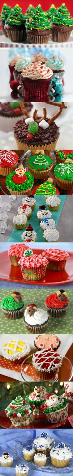 Super Easy Christmas Cupcake Recipes! | Christmas Desserts | Recipe Ideas