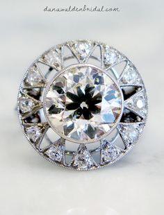 Unique Engagement Rings - NYC - Vintage, Antique, Estate - Custom – Dana Walden Bridal :: Engagement Ring Designers - NYC