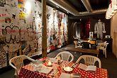 Off Club - Restaurant - BFGF DESIGN STUDIOS - Hamburg  Großartig!!! Kürbis und Rosenkohl- roh!