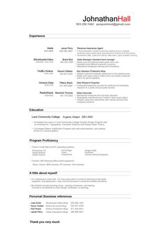 A Little Too Basic But A Good, Solid Resume...Could Always Have Some Color or Graphics Added To It!