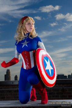 Source: The Marvel Comics Universe Model: ~Hyoutan as Captain America Photographer: *TheBigTog New York City, New York Photograph © 2013 TheBigTog. Any use of this photograph for ANY reason without...