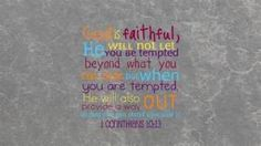 Inspiration and Faith: Temptation, Thoughts, and Overcoming