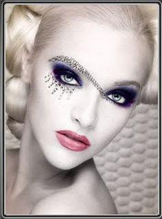 ................ Makeup Fx, Goth Makeup, Eye Makeup Tips, Beauty Makeup, Makeup Ideas, Makeup Designs, Eyeshadow Designs, Exotic Makeup, Makeup Contouring