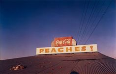 Untitled (Near Minter City and Glendora, Mississippi), printed Photograph and dye-transfer print by William Eggleston. From At War with the Obvious, Metropolitan Museum of Art, Accession © Eggleston Artistic Trust.