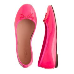 girls' classic patent ballet flats- size 13 or 1?