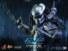 Hot Toys Scar Predator Sixth Scale Figure