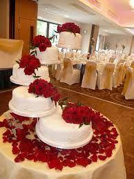 ramos sencillos para bodas en rojo y blanco - Buscar con Google