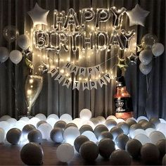 Birthday Balloon Kit BirthdayWedding Decorations Baby Shower Decorations Birthday Party Balloons Hen Party Decorations Party Backdrop Excited to share this item from my s. Birthday Party Decorations For Adults, Hen Party Decorations, Baby Shower Decorations, Birthday Decor For Him, Ceremony Decorations, Happy Birthday Letter Balloons, Birthday Letters, Balloon Birthday, Birthday Wishes