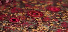 Can you imagine someone painting on water? Check this Ebru artist's video