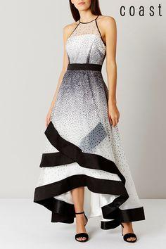 d9fdf54313fe Buy Coast Black/White Alysha Dotted Maxi Dress from Next Israel Svart Och  Vitt,
